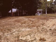 Previous methods used to control heavy erosion along the lake shore had been unsuccessful.