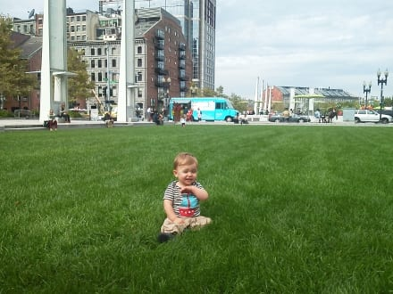 Seeing the smiling face of a youngster enjoying our safe and healthy lawns makes it all worthwhile.
