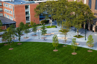 Shoemaker Green at University of Pennsylvania, a SITES pilot project certified in 2013.
