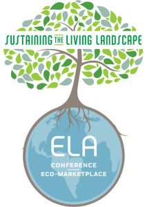 ELA Conference Logo Tree and Globe