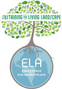 ELA Conference Logo Tree and Globe