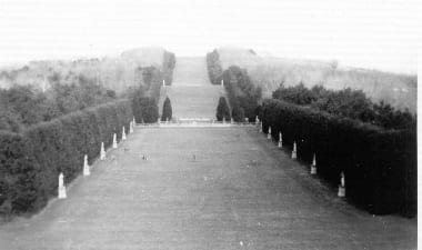 The Grand Allee in 1930.