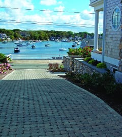 Using permeable pavers such as Pavers by Ideal Eco-Stone®Permeable for residential driveways  ideally potentially meets multiple green infrastructure project goals.