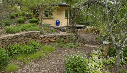 Sustainable garden, Taylor Residence, Kennett Square, PA