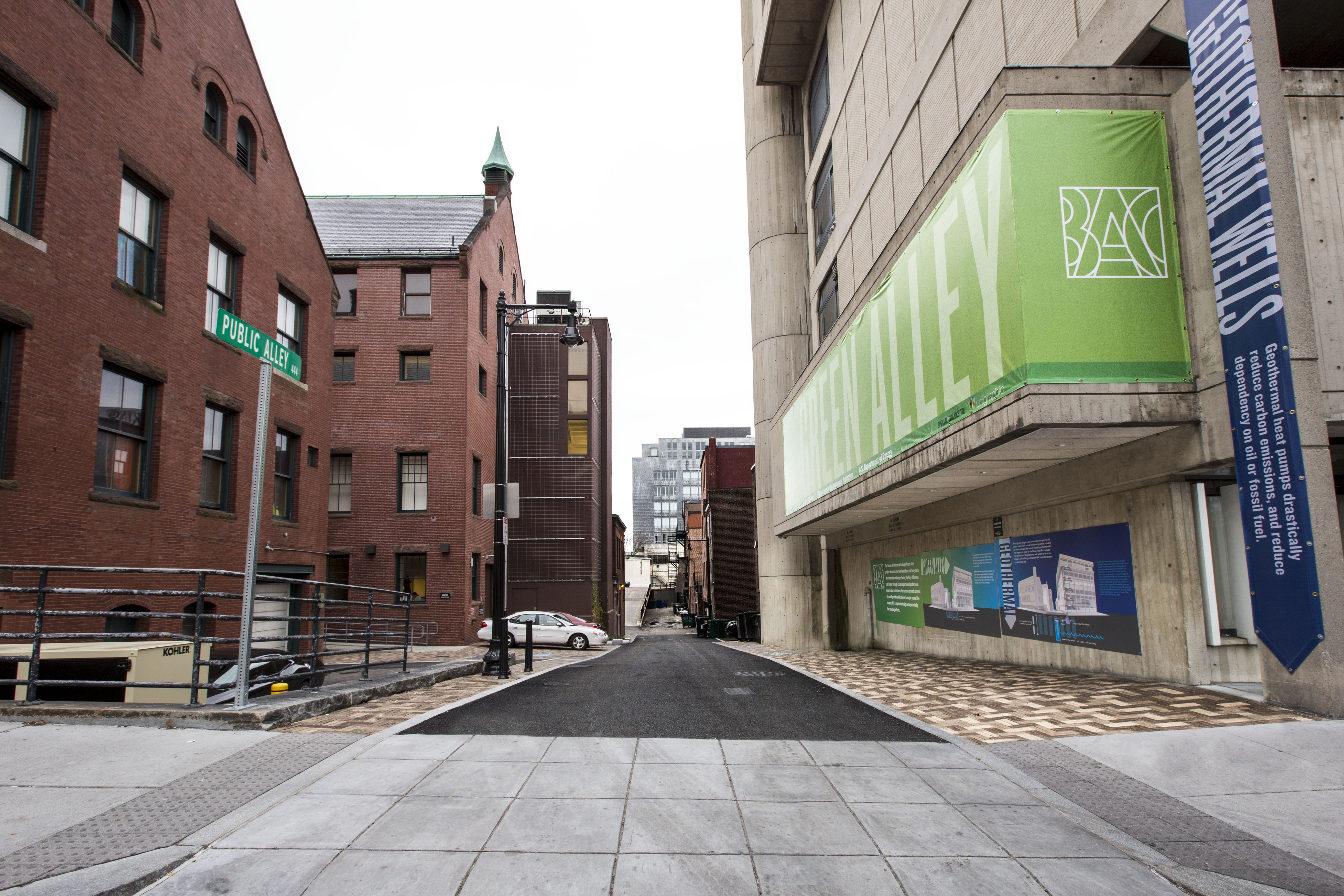 The Green Alley Photo Gallery