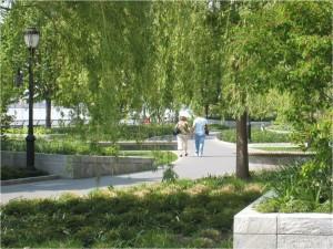 Battery Park City Park System