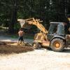 Contractors During Garden Installation