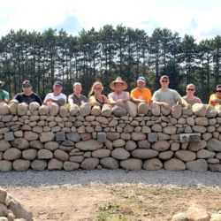 Figure 10:  The Stone Trust offers various training opportunities, many of which are held in the New England area.  The Stone Trust is also developing expansion workshop sites with partners such as the Minnesota site pictured from July 2020.