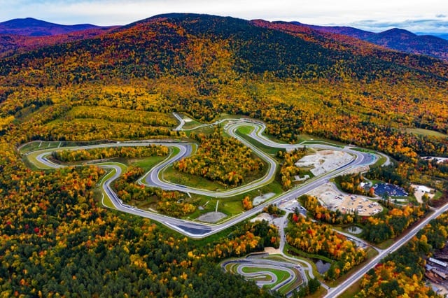 Private Racetrack Nestled in the White Mountains